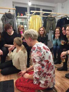 Zajęcie praktyczne na warsztatach Personal Shopper w Polscy Projektanci