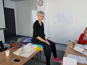 Iwona Jankowska - wykład na Kursie Stylizacji