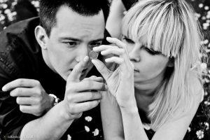Ślubna sesja zdjęciowa - stylizacja Iwona Jankowska