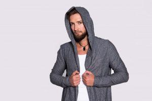 Przykładowa męska stylizacja wykonana na szkoleniu dla stylistów