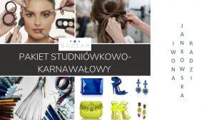 stylizujemy na bale, studniówki, współpracujemy z doświadczonymi makijażystkami i stylistami fryzur, szyjemy na miarę, dobieramy dodatki